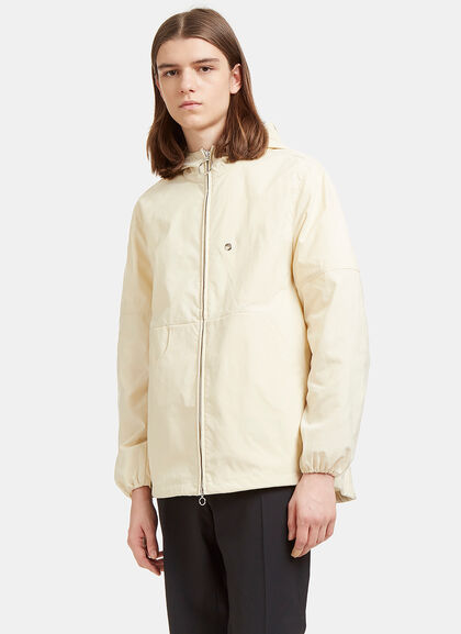 Buy Motion Canvas Hooded Jacket by Acne Studios men clothes online