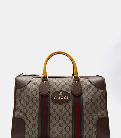 Neo Vintage GG Supreme Print Webbing Duffle Bag by Gucci