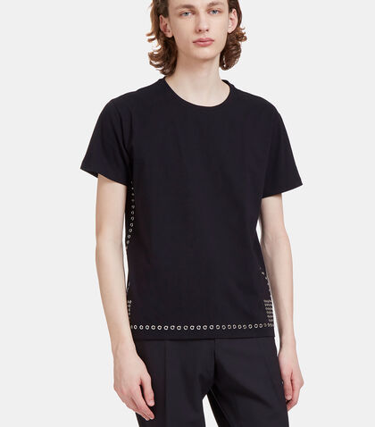 Metal Eyelet T-Shirt by Valentino