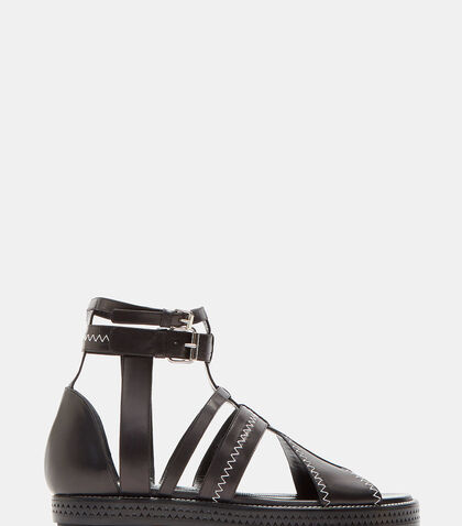 Midnight Gladiator Sandals by Ellery