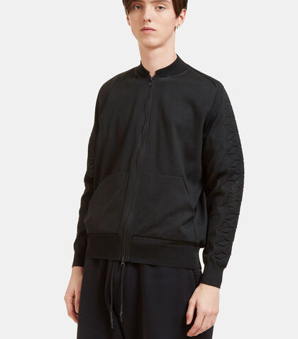Technical Knit Bomber Jacket by Y-3