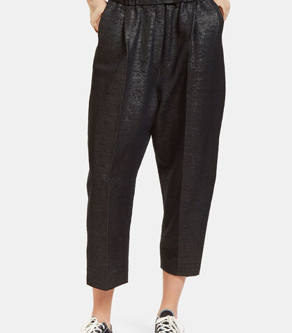 Oversized Tactile Woven Pants by Boboutic
