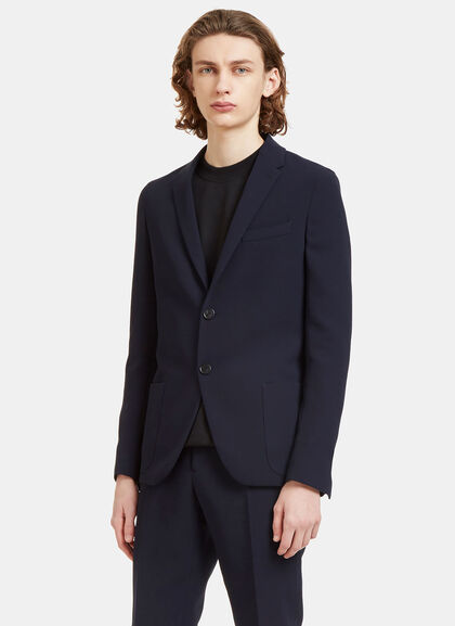 Buy Technical Single-Breasted Blazer Jacket by Fendi men clothes online