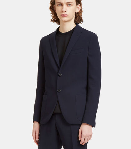 Technical Single-Breasted Blazer Jacket by Fendi