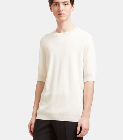 AIEZEN Cashmere and Silk Fine T-shirt by Aiezen