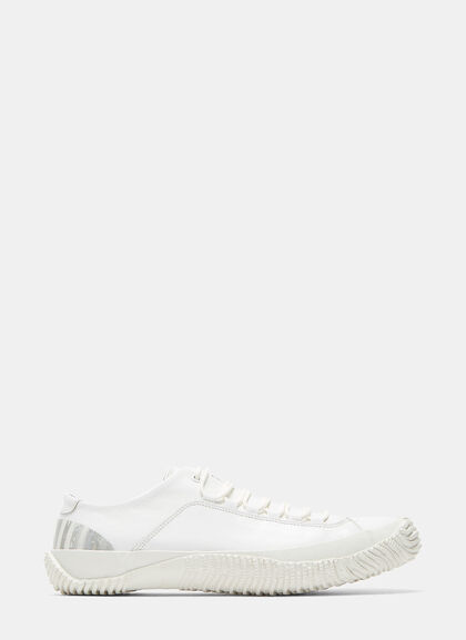 Buy Marbled Heel Low-Top Leather Sneakers by Spingle Move W men clothes online