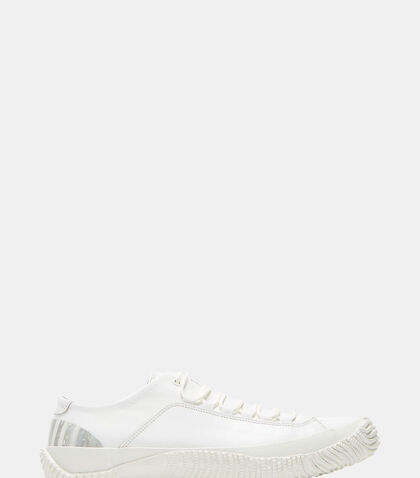 Marbled Heel Low-Top Leather Sneakers by Spingle Move W