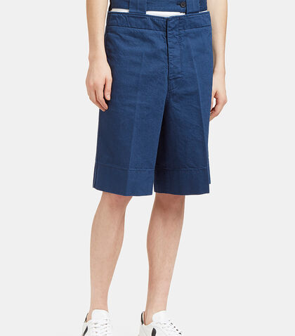 Cut-Out Denim Shorts by Marni