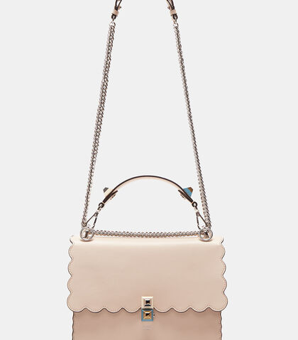 Kan I Scalloped Handbag by Fendi