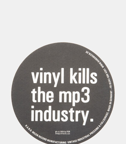 Vinyl Kills Slipmats by Airbag Craftworks