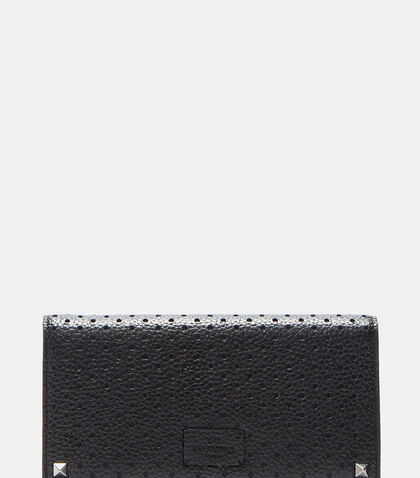 Perforated Leather Wallet by Valentino