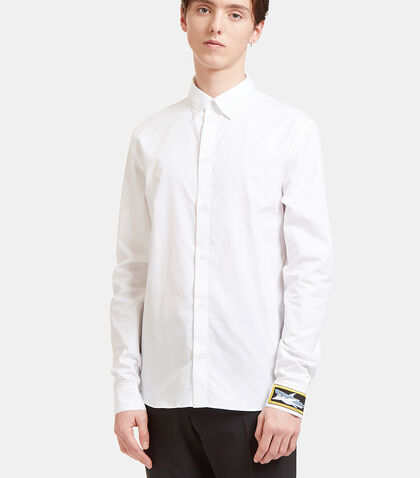 Rainbow-Stitched Poplin Shirt by J.W. Anderson