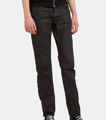 Treated Slim Leg Jeans by Rick Owens Drkshdw