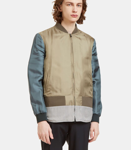 Reversible Padded Bomber Jacket by Fendi