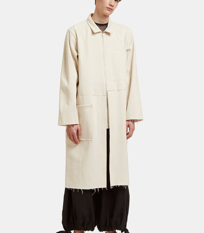 Oversized Mid-Length Rough Trim Jacket by Camiel Fortgens