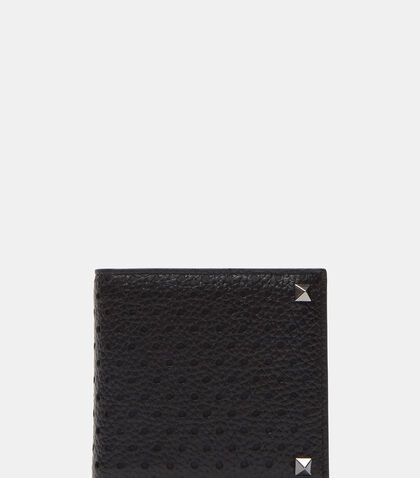 Perforated Stud Fold Wallet by Valentino