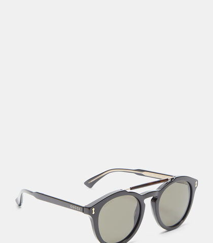 Round Frame GG0124S Sunglasses by Gucci