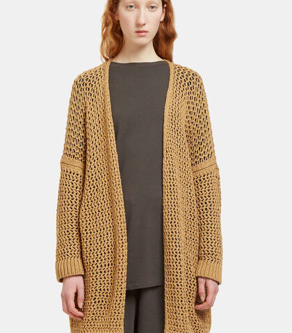 Oversized Open Knit Cardigan by Lauren Manoogian