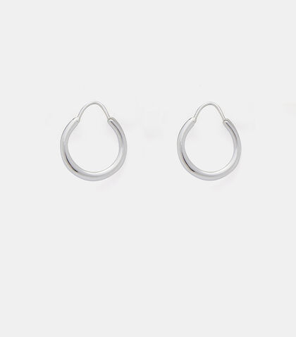 Hungry Baby Snake Polished Earrings by All Blues