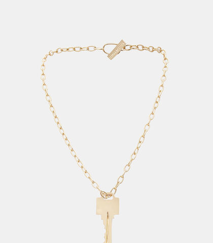 Key Chain Necklace by Lauren Klassen