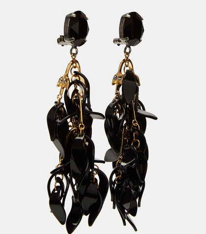 Petal Dangle Drop Earrings by Marni