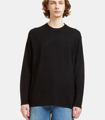 Kicha Zipped Crew Neck Sweater by Acne Studios
