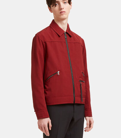 Zipped Ricky Jacket by Lanvin