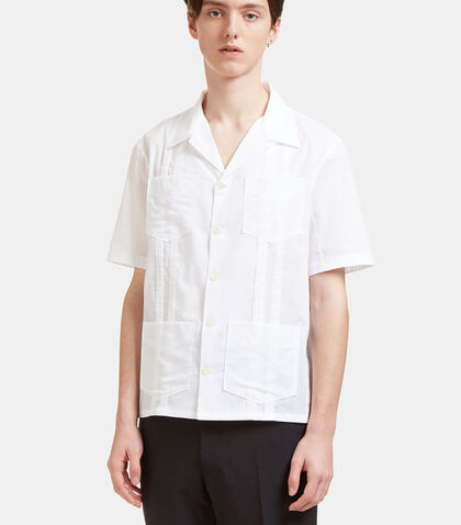 Poplin Patch Pocket Shirt by Valentino