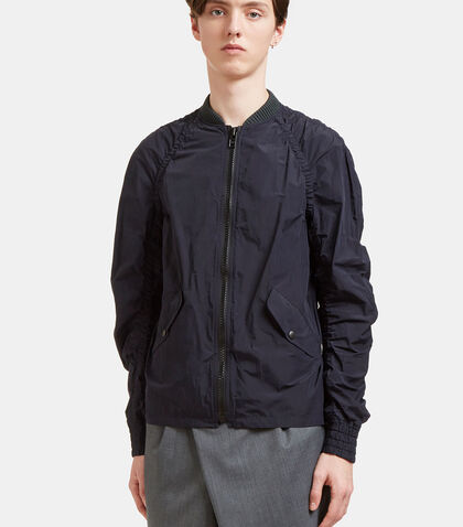 Ruched Seam Bomber Jacket by Kolor