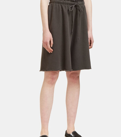 Miter Raw-Edged Shorts by Lauren Manoogian
