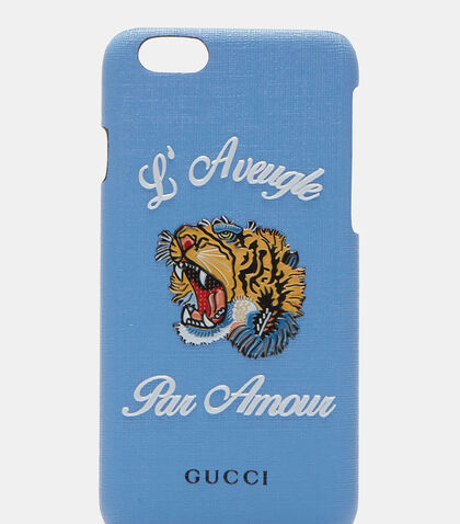 L'Aveugle Par Amour iPhone 6 Case by Gucci