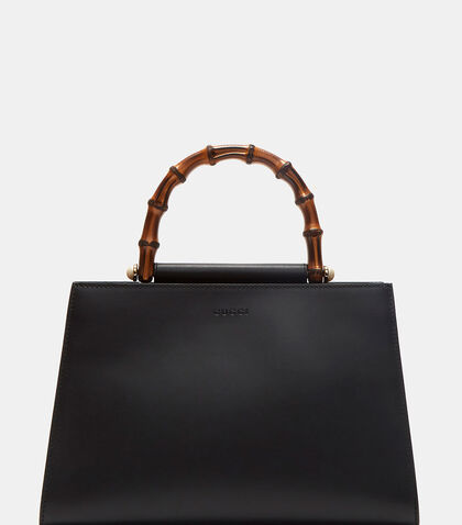 Nymphaea Leather Top Handle Handbag by Gucci