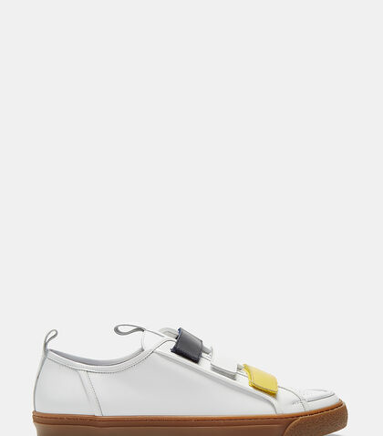 Tricolore Strap Low-Top Sneakers by Sunnei