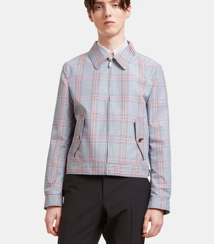 Gingham Checked Jacket by Thom Browne