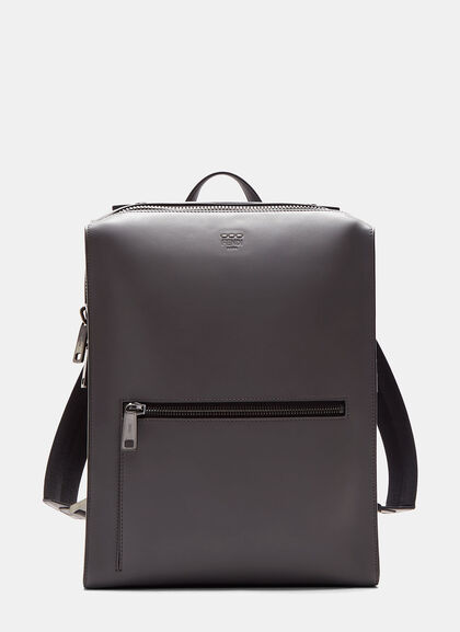 Buy Grace Boxy Leather Backpack by Fendi men clothes online