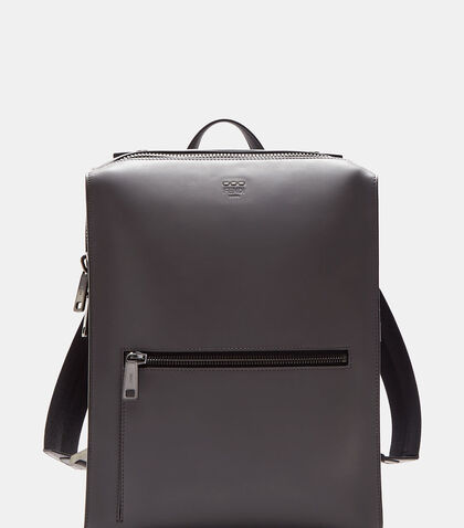 Grace Boxy Leather Backpack by Fendi