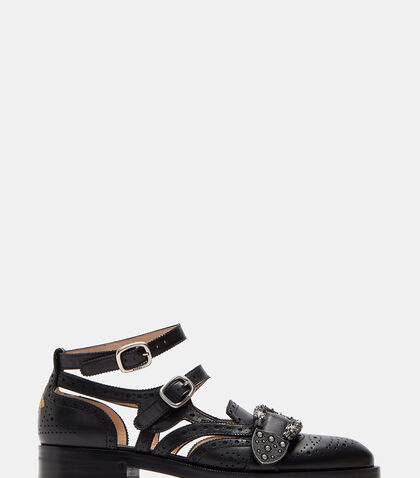 Queercore Brogue Pump Sandals by Gucci