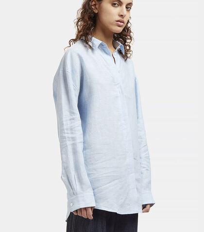 Bela Linen Chambray Shirt by Acne Studios