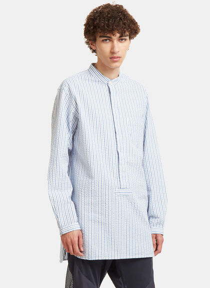 Buy Long Striped Shirt by Snow Peak men clothes online