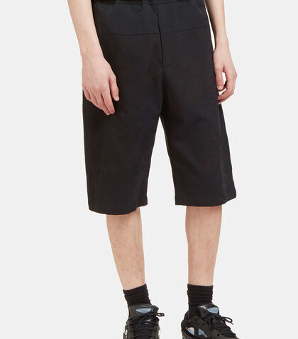 Contrast Panelled Jacquard Shorts by Oamc