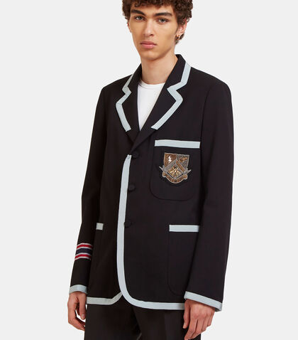 Crested Marine Jacket by Gucci