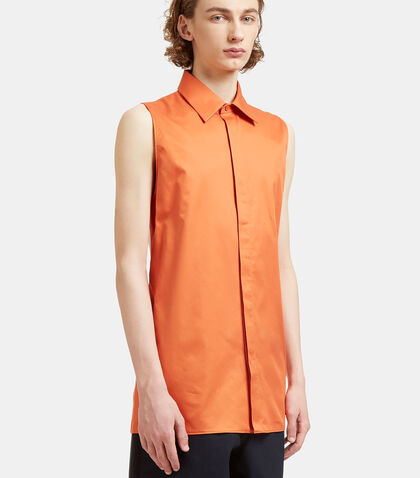 Dalby Long Sleeveless Bi-Colour Shirt by Acne Studios