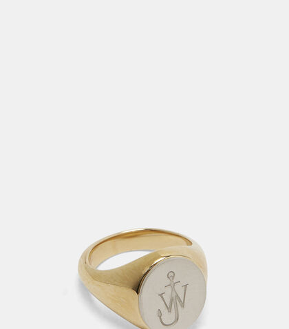 Logo Signet Ring by J.W. Anderson