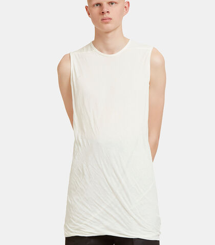 Long Fine Jersey Tank Top by Rick Owens Drkshdw