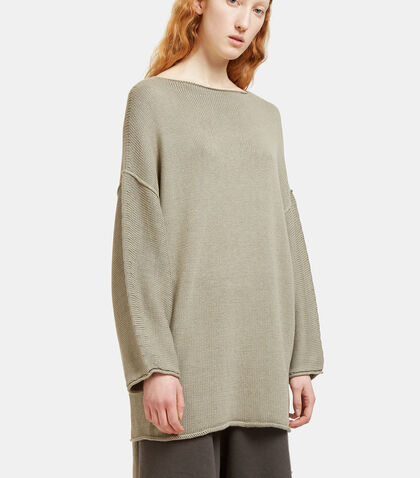 Oversized Dolman Sleeved Knit Sweater by Lauren Manoogian