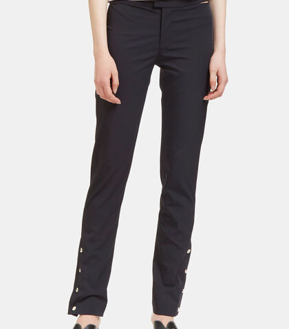 Technical Press Stud Cuff Pants by Nomia