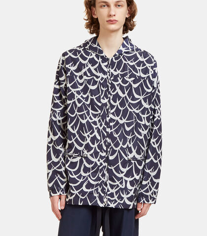 Flutter Oversized Hooded Jacket by Marni