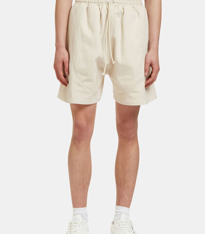 Men's Football Shorts in Off-White by Camiel Fortgens