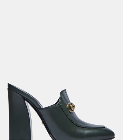 Heeled Loafer Mules by Gucci