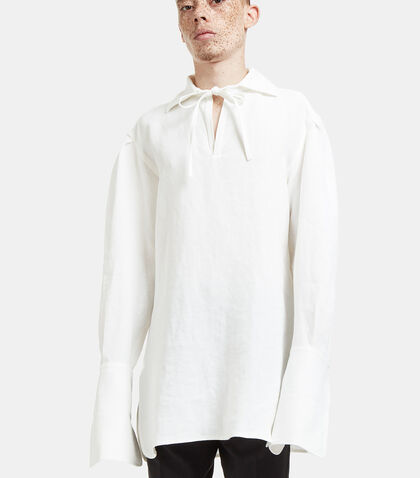 Raf Tie Oversized Shirt by Wales Bonner